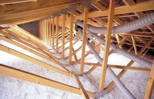 Zoldervloer isolatie supafil Loft