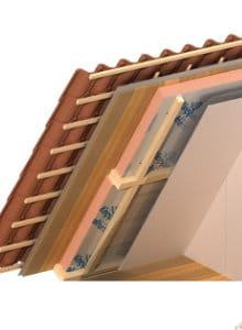 dak isoleren binnenkant resol