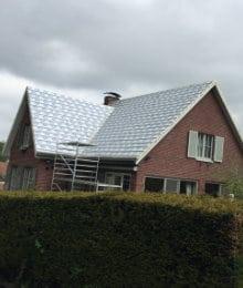 dak isoleren langs buiten