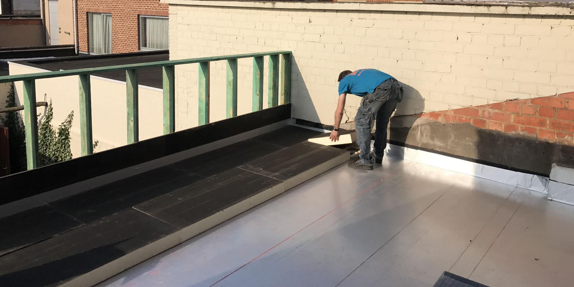 dubbel isoleren plat dak