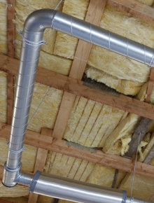 koud plat dak zonder afwerking